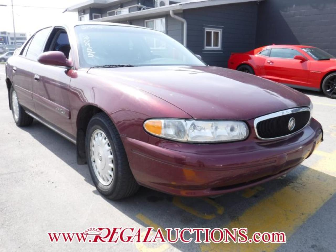 Photo of Red 2002 Buick CENTURY CUSTOM 4D SEDAN