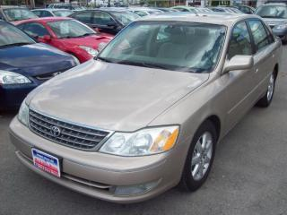 Used 2004 Toyota Avalon XLS, LEATHER, S-ROOF, 152km!! for sale in North York, ON