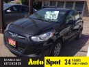 Used 2012 Hyundai Accent FINANCING OPTIONS!/LOW, LOW KMS../FULL FACTORY WAR for sale in Kitchener, ON