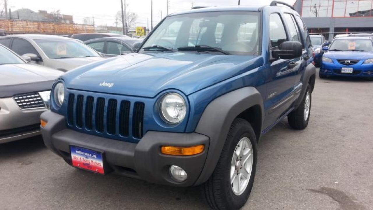 Photo of Blue 2004 Jeep Liberty