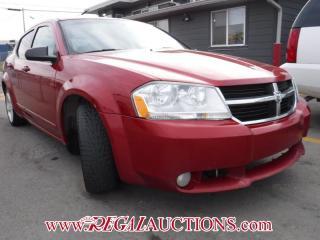 Used 2009 Dodge AVENGER SXT 4D SEDAN for sale in Calgary, AB