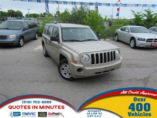 Used 2010 Jeep Patriot SPORT | FINANCING FOR ALL CREDIT TYPES for sale in London, ON