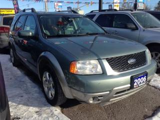 Used 2006 Ford Freestyle SEL  * CAR LOANS W/ for sale in London, ON