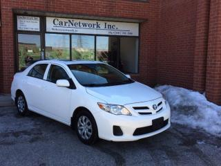 Used 2013 Toyota Corolla CE AUTO, SUNROOF, POWER GROUP, NO ACCIDENTS for sale in Woodbridge, ON