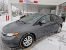 Used 2012 Honda Civic for sale in L'ile-perrot, QC