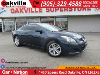 Used 2013 Nissan Altima 2.5 S COUPE | LEATHER | SUNROOF | B/U CAM for sale in Oakville, ON
