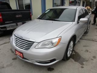 Used 2011 Chrysler 200 POWER EQUIPPED 'GREAT VALUE' TOURING EDITION 5 PASSENGER 2.4L - DOHC.. CD/AUX INPUT.. KEYLESS ENTRY.. for sale in Bradford, ON