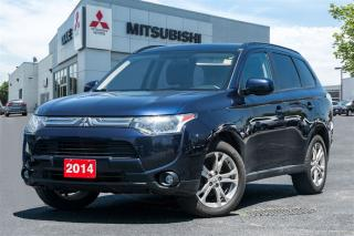 Used 2014 Mitsubishi Outlander LEATHER | ROOF| CLEAN CARPROOF| for sale in Mississauga, ON