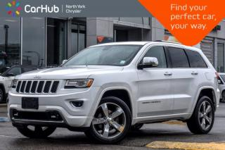 New 2015 Jeep Grand Cherokee Overland 4x4|Nav|PanoSunroof|RemoteStart|BackUpCam for sale in Thornhill, ON
