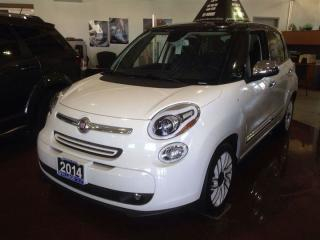 Used 2014 Fiat 500 L Lounge ***LEATHER-FACED SEATING***REAR PARK ASSIST for sale in Ajax, ON