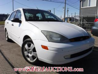 Used 2003 Ford FOCUS ZTS 4D SEDAN for sale in Calgary, AB