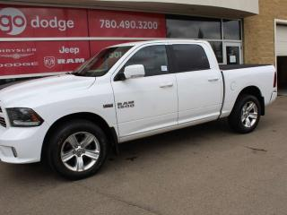 Used 2015 RAM 1500 Sport 4x4 Crew Cab / Sunroof / Back Up Camera for sale in Edmonton, AB