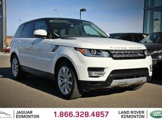 Used 2015 Land Rover Range Rover Sport V6 HSE - Local One Owner Trade In | No Accidents | 3M Protection Applied | Navigation | Park Assist | Surround Camera System | Parking Sensors | Reverse Traffic/Blind Spot/Closing Vehicle Sensors | Soft Close Doors | Adaptive Cruise Control | Adapti for sale in Edmonton, AB