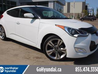 Used 2015 Hyundai Veloster Tech Nav Sunroof Alloys for sale in Edmonton, AB