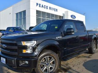 Used 2015 Ford F-150 Lariat 4x4 SuperCrew Cab 6.5 ft. box 157 in. WB for sale in Peace River, AB
