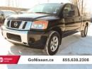 Used 2014 Nissan Titan SV 4x4 Crew Cab SWB for sale in Edmonton, AB