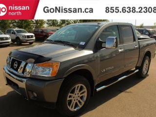 Used 2014 Nissan Titan SUNROOF, BACKUP CAMERA, NAVIGATION for sale in Edmonton, AB