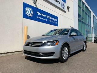 Used 2014 Volkswagen Passat TRENDLINE - HEATED SEATS / ALLOYS for sale in Edmonton, AB
