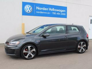 Used 2015 Volkswagen Golf GTI 3-Door Autobahn 2dr Hatchback for sale in Edmonton, AB