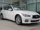 Used 2015 Infiniti Q50 TECH/LANE DEPARTURE/BLIND SPOT/NAVIGATION/AROUND VIEW MONITOR for sale in Edmonton, AB