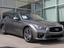 Used 2015 Infiniti Q50 SPORT TECH/LANE DEPARTURE/BLIND SPOT/AROUND VIEW MMONITOR for sale in Edmonton, AB