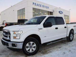 Used 2015 Ford F-150 XLT 4x4 SuperCrew Cab 5.5 ft. box 145 in. WB for sale in Peace River, AB