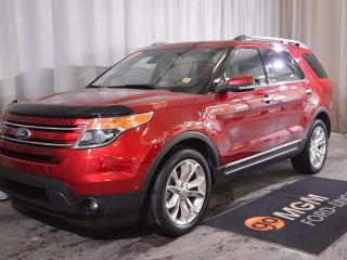 Used 2015 Ford Explorer LIMITED for sale in Red Deer, AB