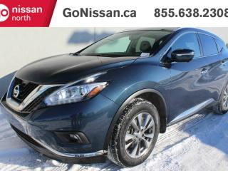 Used 2015 Nissan Murano SL AWD HEATED STEERING WHEEL, LEATHER, SUNROOF, NAVIGATION, for sale in Edmonton, AB
