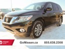 Used 2015 Nissan Pathfinder 7 passenger, auto, very low KM's! for sale in Edmonton, AB
