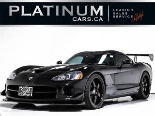 Used 2008 Dodge Viper SRT-10 ACR EDITION, 600HP V10, Push START, Leather for sale in Toronto, ON