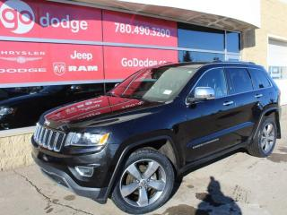 Used 2015 Jeep Grand Cherokee Limited 4x4 / Back Up Camera / Heated Steering Wheel / Heated Front Seats for sale in Edmonton, AB
