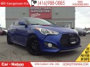 Used 2013 Hyundai Veloster TURBO| NAVI| LEATHER| ROOF| BLACK WHEELS for sale in Georgetown, ON