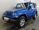Used 2015 Jeep Wrangler Sahara 2dr 4x4 - GPS Navigation for sale in Edmonton, AB