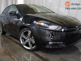 Used 2015 Dodge Dart GT / GPS Navigation / Sunroof / Heated Steering Whee / Heated Front Seats for sale in Edmonton, AB