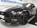 Used 2015 Ford Mustang It's back in black! Coupe! Push start! Back up cam! for sale in Edmonton, AB