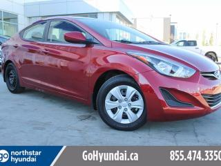 Used 2015 Hyundai Elantra L MANUAL/LOWKM/POWER OPTIONS for sale in Edmonton, AB