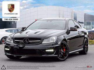Used 2015 Mercedes-Benz AMG C63 507 Edition | LOW KMS! | NAV | Blind-spot | Panoramic Roof for sale in Edmonton, AB