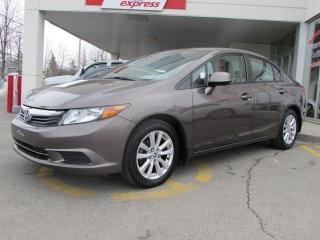 Used 2012 Honda Civic EX for sale in L'ile-perrot, QC