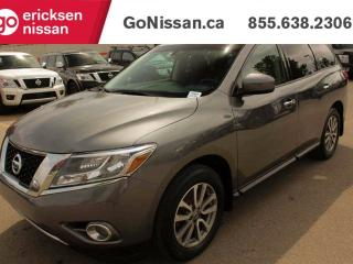 Used 2015 Nissan Pathfinder S, 4x4, Power Windows, Alloy Wheels, Great Value for a 7 Passenger SUV! for sale in Edmonton, AB
