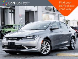 Used 2015 Chrysler 200 C V6 Heated Seats & Wheel Panoramic Roof Navigation ALPINE Sound for sale in Thornhill, ON