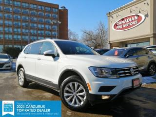 Used 2018 Volkswagen Tiguan CLEAN CARFAX |7 PASS| APPLE CAR PLAY| CAM |4 NEW SNOW TIRES* for sale in Scarborough, ON