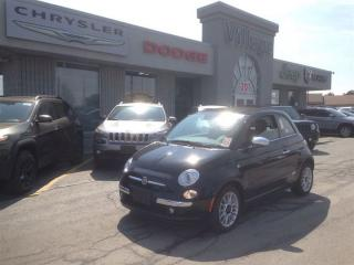 Used 2014 Fiat 500 C Lounge ***LEATHER-FACED SEATING***REAR PARK ASSIST for sale in Ajax, ON