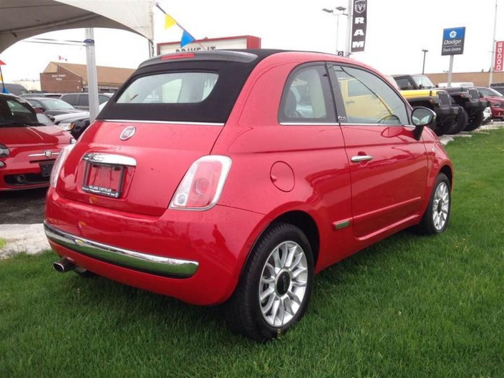 Used 2014 Fiat 500 C Lounge ***LEATHER-FACED SEATING