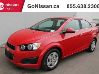 Used 2012 Chevrolet Sonic LT FWD AUTOMATIC, POWER WINDOWS, POWER LOCKS for sale in Edmonton, AB