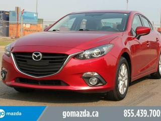 Used 2015 Mazda MAZDA3 GS HEATED SEATS SUNROOF BACK UP CAMERA for sale in Edmonton, AB