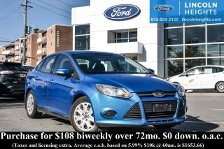 Used 2014 Ford Focus SE SEDAN - BLUETOOTH - HEATED SEATS for sale in Ottawa, ON