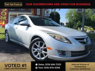 Used 2010 Mazda MAZDA6 GT-I4 Leather-Sunroof-Auto-Bluetooth for sale in London, ON