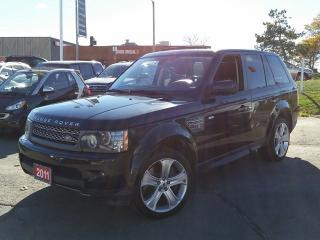 Used 2011 Land Rover Range Rover Sport SUPER CHARGE/NAVIGATION/SUNROOF/LEATHER/BACK CAM for sale in Brampton, ON