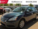 Used 2015 Nissan Sentra Automatic, Bluetooth, cruise for sale in Edmonton, AB