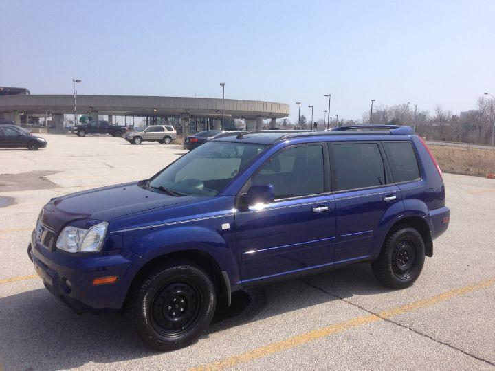used 2005 nissan x trail le loaded w pano roof leather suv crossover for sale in toronto. Black Bedroom Furniture Sets. Home Design Ideas